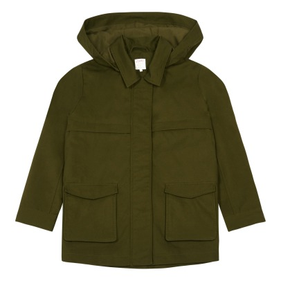 Little Karl Marc John Removable Hood Jacket-listing