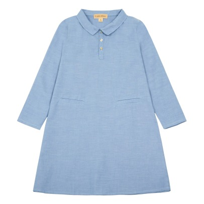 Lab - La Petite Collection Chic Chambray Shirt Dress-listing