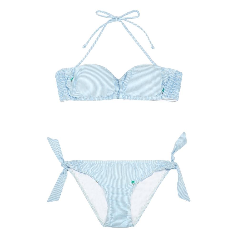 La Sortie Authentique Bikini Seersuker Palmiers Caspienne - Cuisse de Grenouille Jeu En Ligne Pas Cher Réel Achat Wiac8m
