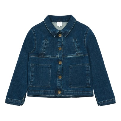 Little Karl Marc John Vitory Denim Jacket-listing