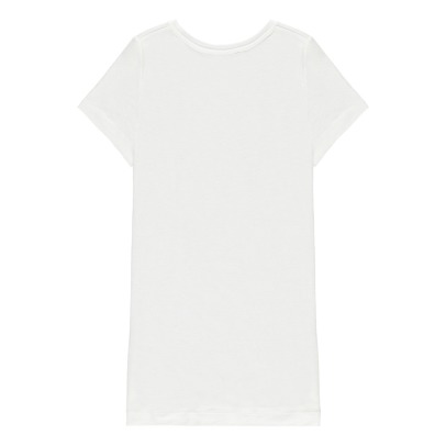 Little Remix T-Shirt aus Leinen New Blos Hashtag -listing