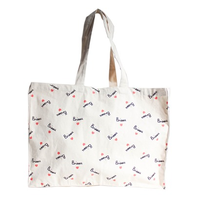 Mathilde Cabanas Giant Bisou Tote Bag -listing