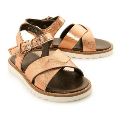 Pèpè Two Con Me - Buckle Leather Sandals-listing
