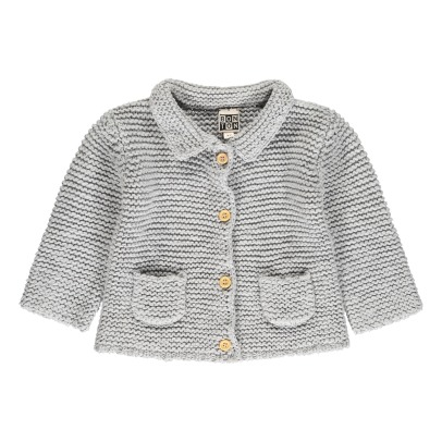 Bonton Cardigan Point Mousse Poches-listing