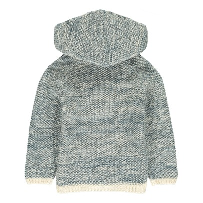 Lab - La Petite Collection Mouliné Hooded Cardigan-listing