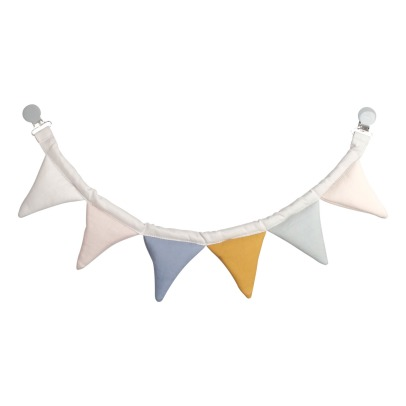 Fabelab Push Chair Organic Cotton Bunting Flags Garland-listing