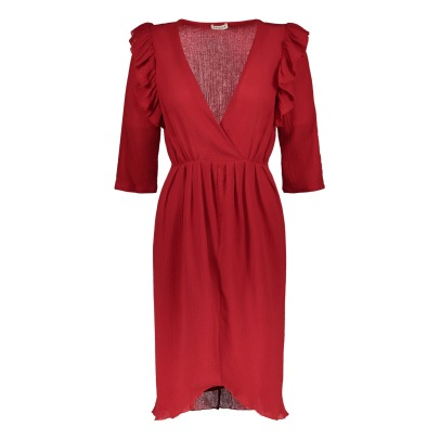 Masscob Ruffled Dress-listing