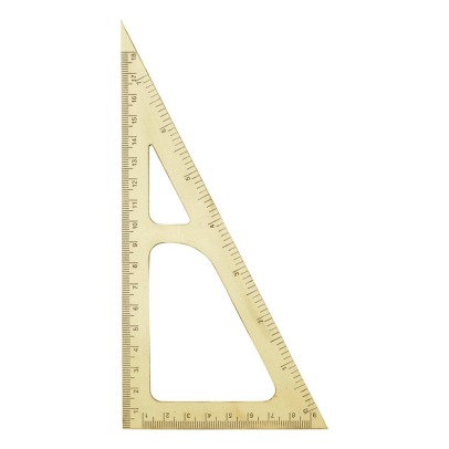 House Doctor Brass Set Square-listing