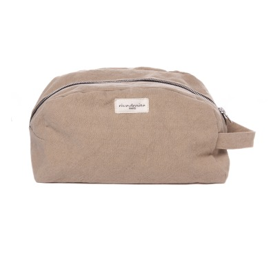 Rive Droite Hermel Recycled Cotton Toiletry Bag-listing