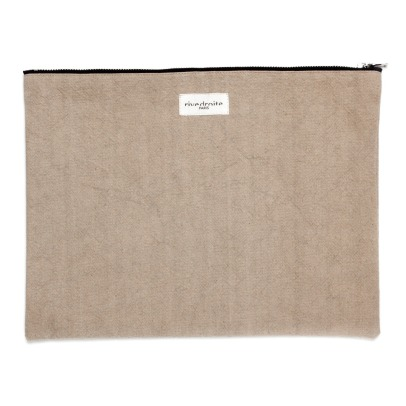 Rive Droite Barbette Recycled Cotton Pouch-listing
