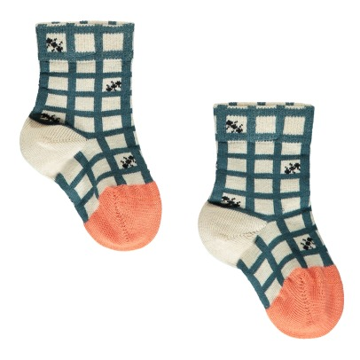 Hansel from Basel Mini Picnic Ant Checked Socks-listing