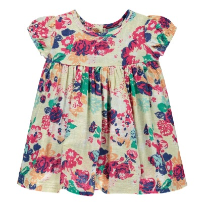 Lulaland Rebecca Organic Cotton Flower Dress-listing