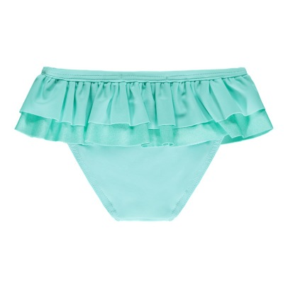 Lison Paris Iridescent Ruffled Double Plain Swimming Bottoms-listing
