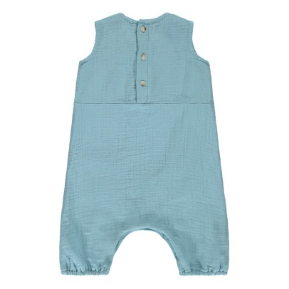 Boy + Girl Baby Pocket Jumpsuit -listing