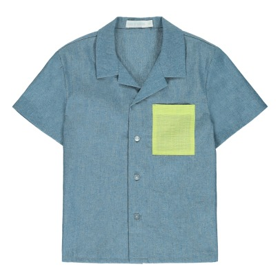 Oaks of acorn Marty Chambray Shirt-listing