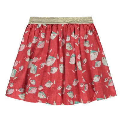 Lulaland Railey Organic Cotton Fish Skirt-listing