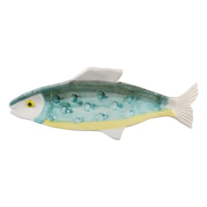 Klevering Anouk Fish Earthenware Plate -listing