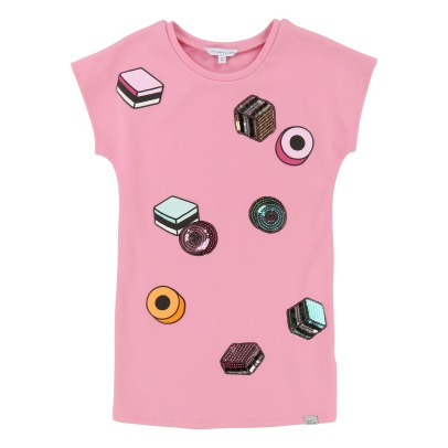 Little Marc Jacobs Kleid mit Pailletten Lakritze -listing