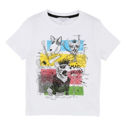 Little Marc Jacobs T-Shirt Hard Rock Tiere-listing