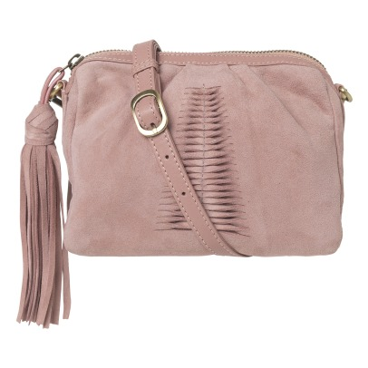 Beck Sönder Gaard Adrienne Mini Suede Shoulder Bag-listing