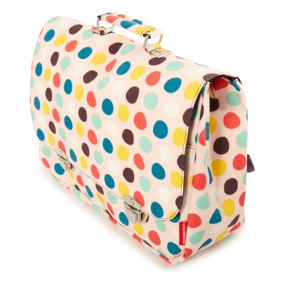 Engel Polka Dot Large Recycled Plastic Schoolbag-listing