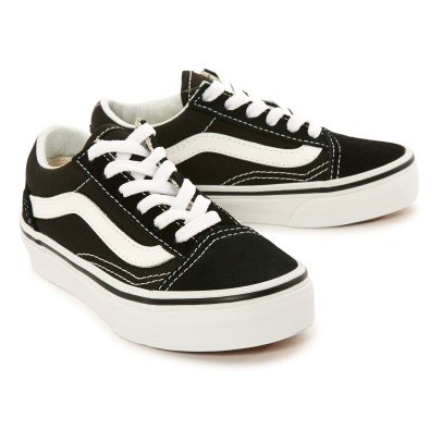 Vans Baskets con lacci e pelle in Tela  Old Skool-listing