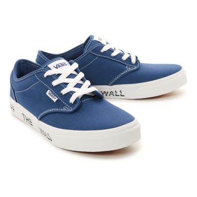 "Vans Atwood Canvas Laced Trainers - ""The Wall"" Soles-listing"