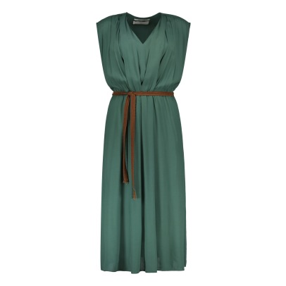 Pomandère Pleated Maxi Dress-listing