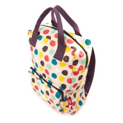 Engel Polka Dot Large Recycled Plastic Backpack-listing