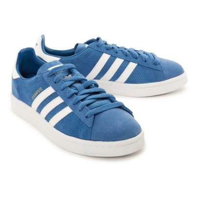 Adidas Baskets Daim Lacets Campus-listing