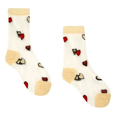 Hansel from Basel Calcetines Nylon Corazones-listing
