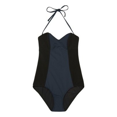 Albertine Madrague Two-Tone 1 Piece Swimsuit-listing