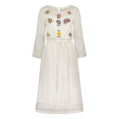 Leon & Harper Risette Floral Embroidered Dress-listing