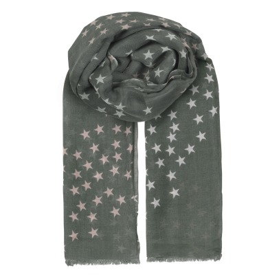 Beck Sönder Gaard Infinity Stars Wool and Silk Scarf-listing