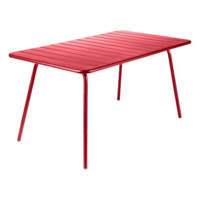Fermob Table Luxembourg 143x80 cm en aluminium-listing