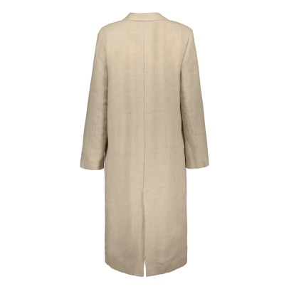 Pomandère Linen & Cotton Coat-listing