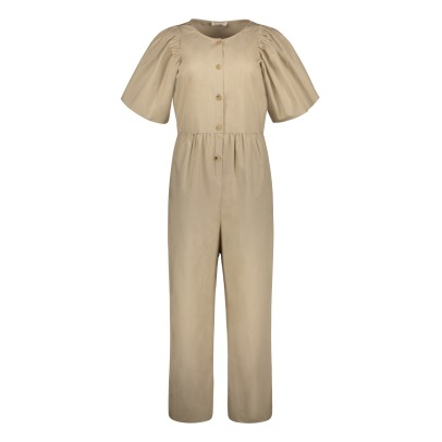 Masscob Ruffled Sleeve Jumpsuit-listing