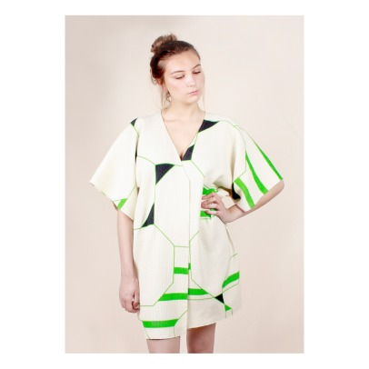 Ma poésie Lin and Cotton Adult Bathrobe -listing