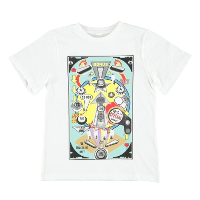 Stella McCartney Kids T-Shirt aus Bio-Baumwolle Flipper Arrow -listing