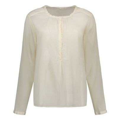 Pomandère Cotton and Silk Blouse-listing