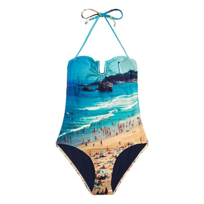 Albertine Biarritz Shell Beach 1 Piece Swimsuit-listing