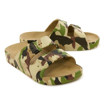 Moses Boucle Imitation Army Sandals-listing