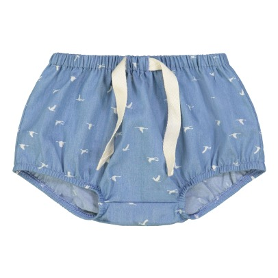 Petite Lucette Roget Bird Print Bloomers-listing