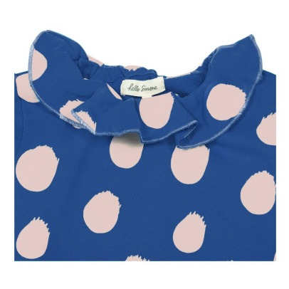 Hello Simone Bellie Ruffled Dot Sweatshirt-listing