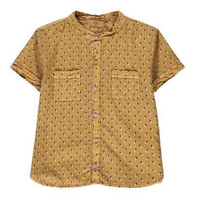 Buho Gabriel Dot Short Sleeve Shirt-listing