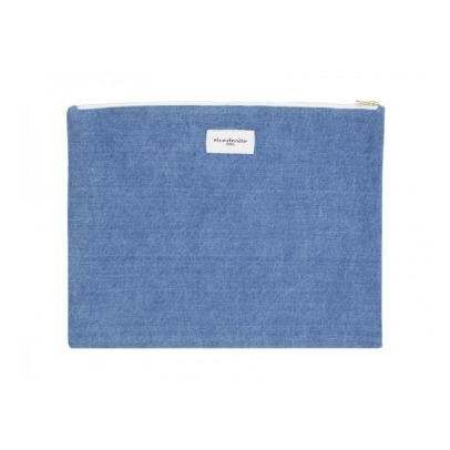 Rive Droite Pochette Barbette in denim-listing