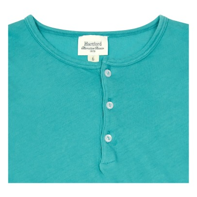Hartford Henley Light Cotton Top-listing
