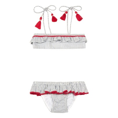 Lison Paris Alabama 2 Piece Bandeau Swimsuit-listing