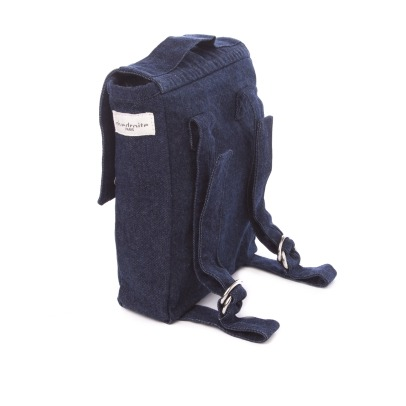 Rive Droite Minimes Recycled Denim Children's Backpack-listing