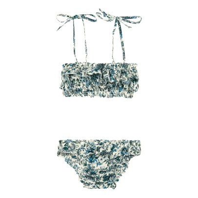 Babe & Tess Floral 2 Piece Swimsuit-listing